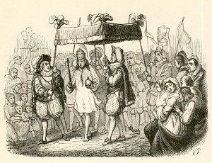 Des Kaisers neue Kleider - Illustration von Vilhelm Pedersen